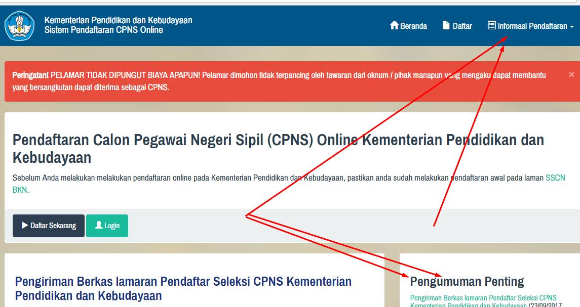 Image Result For Cpns Kemendikbud