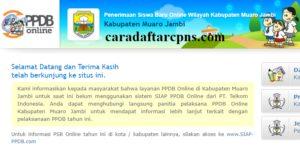 Jadwal PPDB SMA SMK Negeri Kab Muaro Jambi 2020 2021