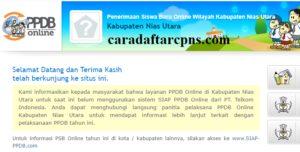 PPDB SMP Kabupaten Nias Utara