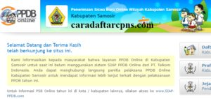 PPDB SMP Kabupaten Samosir