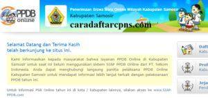 Jadwal PPDB SMA SMK Negeri Kab Samosir 2020 2021