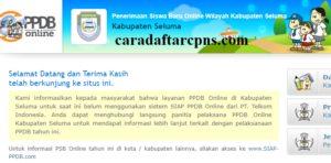 Jadwal PPDB SMA SMK Negeri Kab Seluma 2020 2021