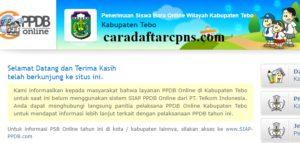 Jadwal PPDB SMA SMK Negeri Kab Tebo 2020 2021