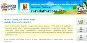 Jadwal Pendaftaran PPDB SMA SMK Negeri Kab Bandung 2020/2021