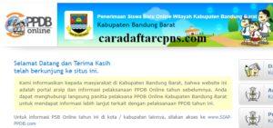 PPDB SMP Kabupaten Bandung Barat