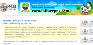 Jadwal Pendaftaran PPDB SMA SMK Negeri Kab Sumedang 2020/2021