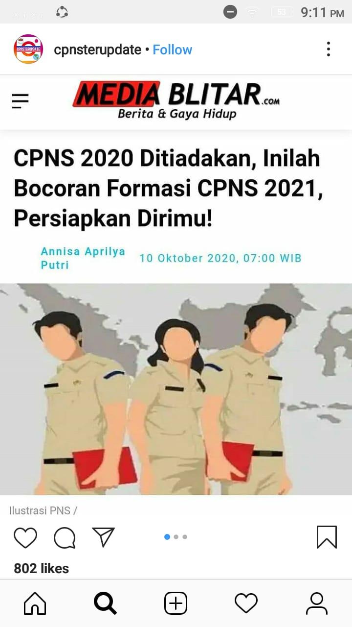 50++ Cara pendaftaran cpns 2021 lulusan smk info
